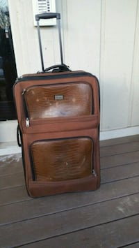 brown and black luggage bag Southfield, 48034