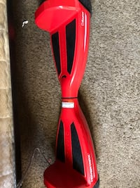 RED HOVERBOARD BRAND NEW 34 mi