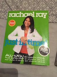 Just In Time by Rahael Ray book Denison, 75020