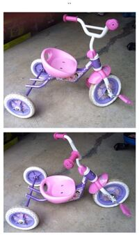 toddler's pink and purple push trike 舒格高地, 30518