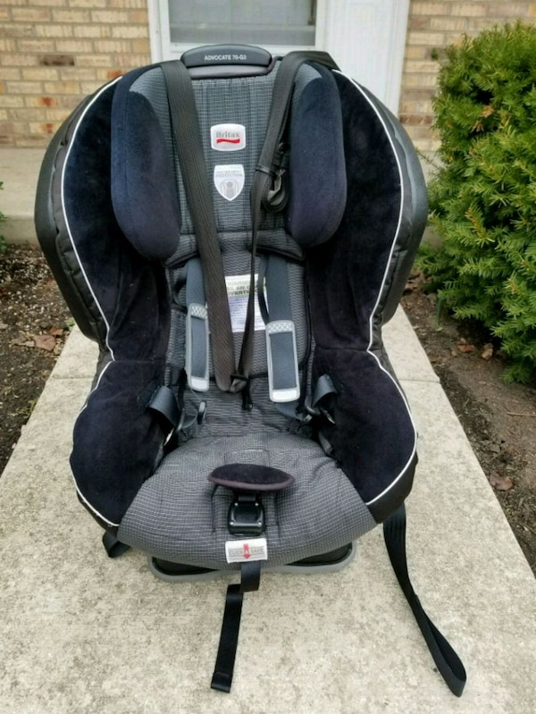 Used Black And Gray Britax Car Seat For Sale In Bolingbrook Letgo
