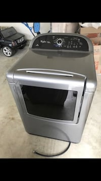 Gray top-load clothes washer and dryer. Whirlpool. Great condition! Whirlpool top load washer and dryer. Great condition! Like lg, Samsung, kenmore, Maytag, General Electric, Electrolux Chantilly, 20152