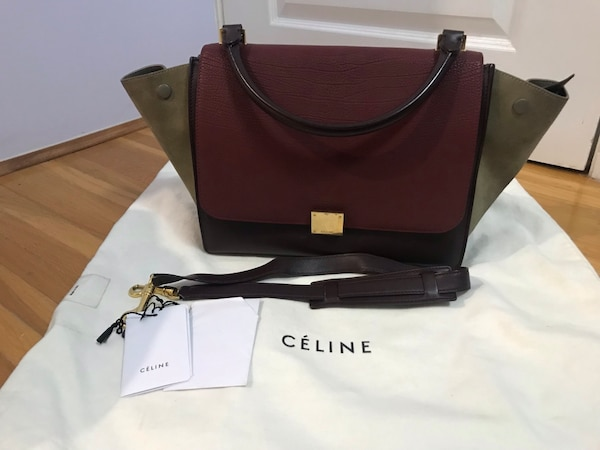 22ed88707e Used Authentic Céline trapeze medium bag. Comes with dust bag