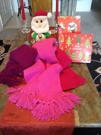 Hand made scarf with hat 774 mi