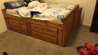 Double Captain bed frame Bakersfield, 93308