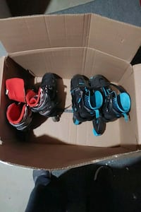 Roller blades both pairs for 25$ Delaware County