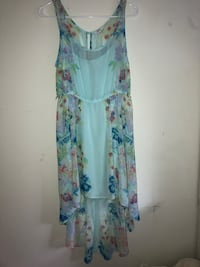 women's white and blue floral sleeveless dress Plymouth, 55447