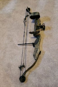 Golden Eagle compound bow with arrows and case Accokeek