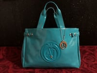 Tote bag in pelle di teal Michael Kors Giugliano in Campania, 80014