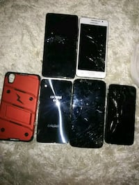 four black and one red iPhone 4 Waco, 76705