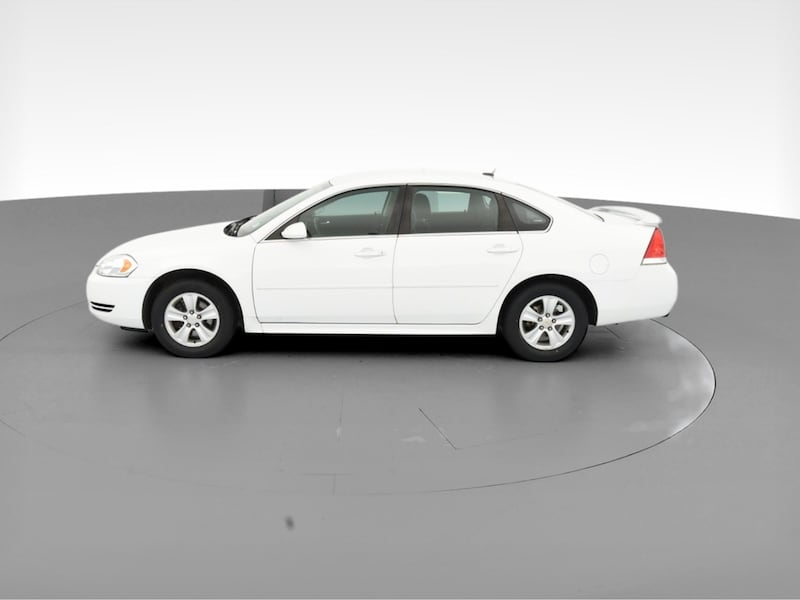 2014 Chevy Chevrolet Impala Limited sedan LS Sedan 4D White  4
