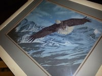 Eagle & Winter Mountain Framed Art Ajax, L1S 2J5