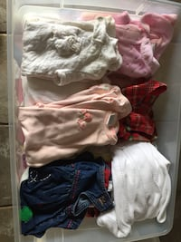 Girl's clothing ages newborn to 8 48 km