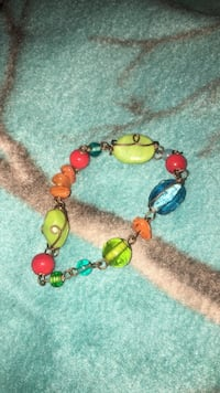 blue and green beaded bracelet Wasilla, 99654
