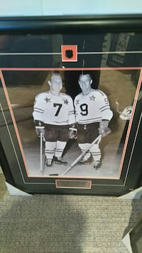 two ice hockey player poster