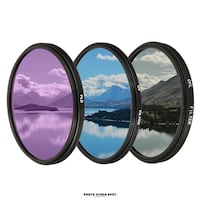 Lens Filters UV / CPL / FLD / Available For Various Sized Lenses / BRAND NEW / PhotoVideoSpot.ca Toronto