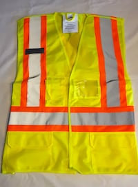 Yellow Mesh Safety Vest $15 each St. Catharines