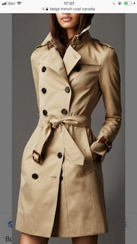 Zara Trench coat women. Worn only once bought it for 240$.