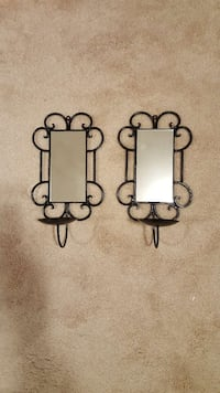 Mirrored wall sconces, set of 2 Woodbridge, 22193