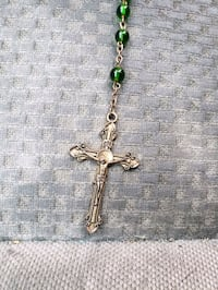 Green beaded Rosary Baltimore, 21216