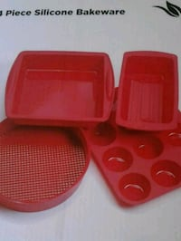 FOR THE BAKER THIS XMAS BNIB 4 PIECE SILICONE BAKEWARE Pickering, L1V
