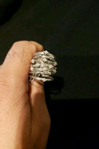 Brand new...Sterling Silver..size 6 Alexandria