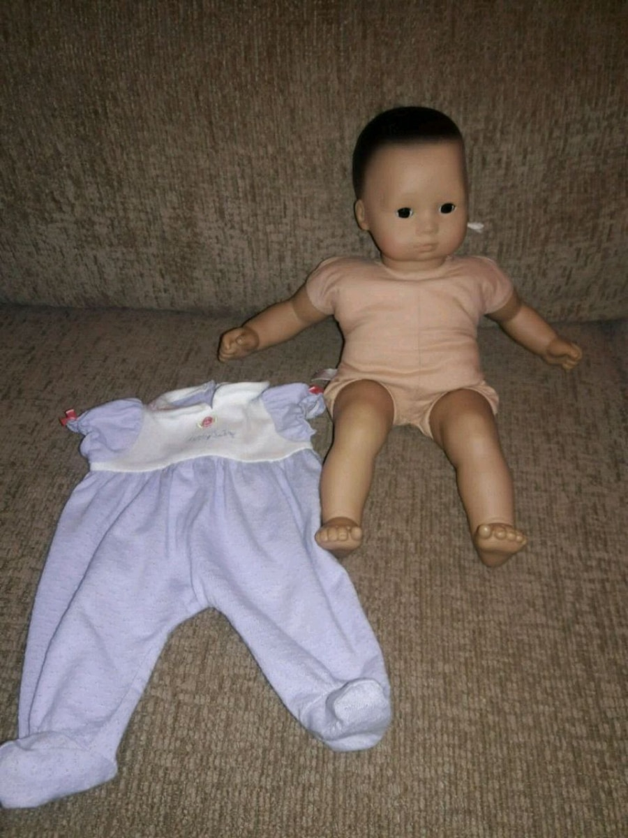 Photo American Girl Asian bitty baby doll