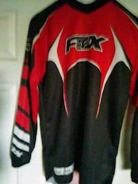 Fox motocross gear, pants red and white, shirt red Gilroy, 95020