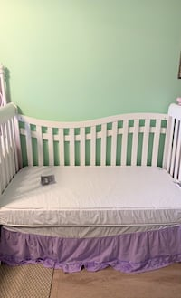 Convertible crib with new mattress