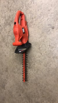 red and black hedge trimmer Wildomar, 92595
