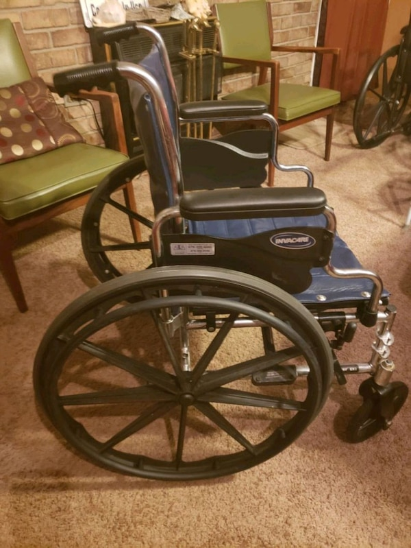 Remarkable 2 Wheelchairs With Leg Supports And All Attachment Lamtechconsult Wood Chair Design Ideas Lamtechconsultcom