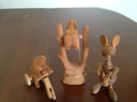 USSR hand carved wooden toys.         CHESAPEAKE