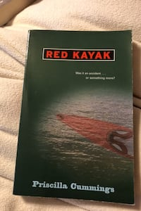 Book     Red Kayak by Priscilla Cummings
