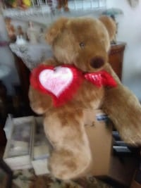 brown and red bear plush toy Wappingers Falls, 12590