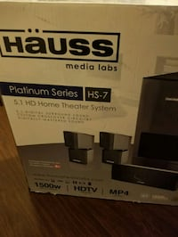 HAUSS Home theatre system. Burnaby, V5G 3Y8
