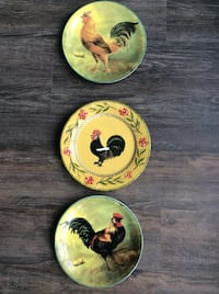 Rooster Plates Milton