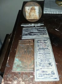 Vintage linotype stamps can a Hot mold polish Memphis, 38128