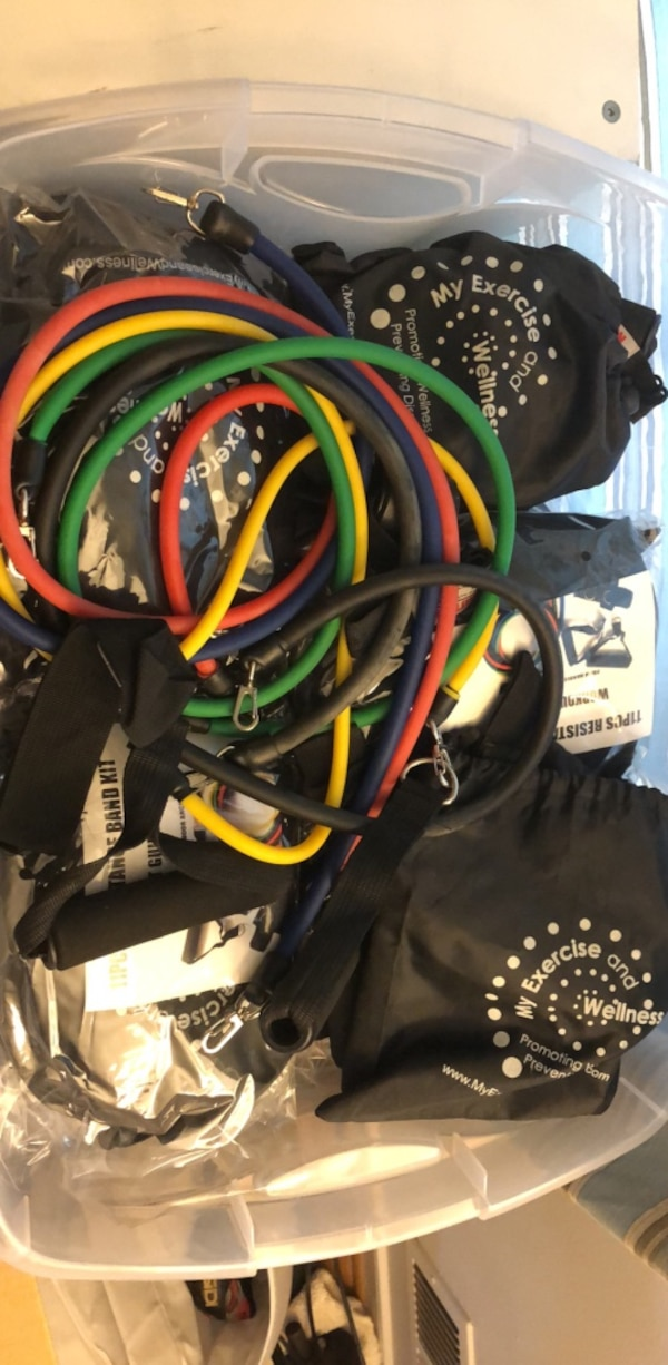 Exercise Bands for personal trainer business