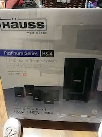 HAUSS Home Theater System Vancouver, V6A 2E5