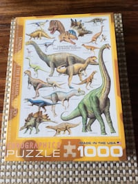 """Eurographics 1000pc puzzle """"Un-opened"""""""