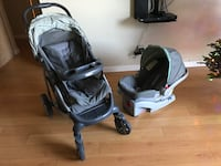 Greco click connect stroller, car seat, and base Burbank, 91501