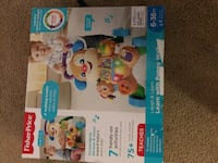 Fisher Price 6 to 36 Months Grow/ w Me Walker Activity WASHINGTON