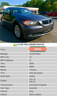 BMW - 3-Series - 2006 Roswell, 30076