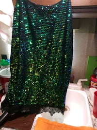 pretty Dress, full of dk.green glitter Las Vegas, 89121