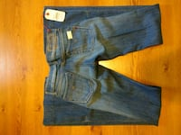 blue denim straight-cut jeans Toronto, M1H 3H3