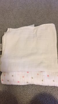 Aden and Anais Swaddling Cloths.