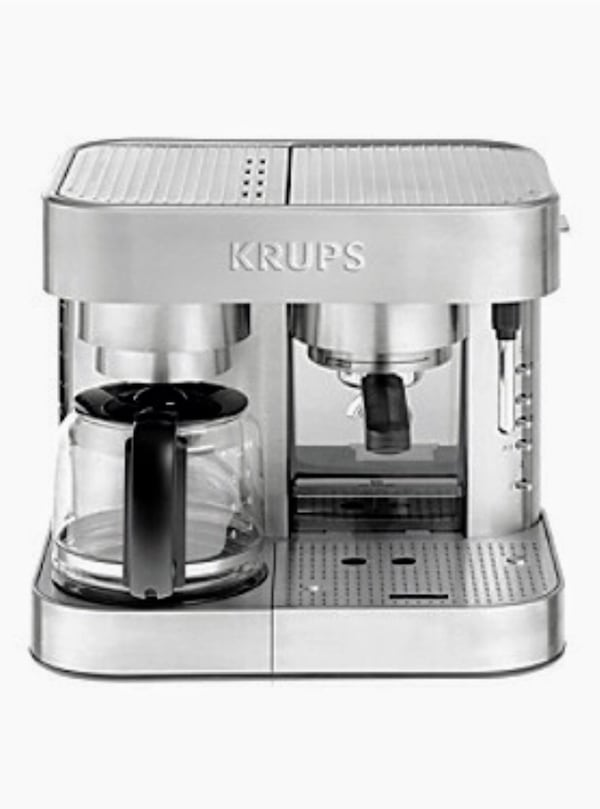 Krups Stainless Steel Combi coffee and Expresso maker ... aa3e127b-5e4c-4ae7-8c29-d3cf4ed02dc6