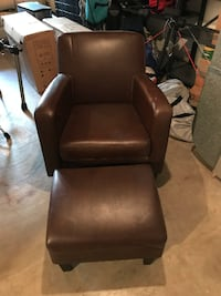 IKEA Jappling lounge chair and ottoman Arlington