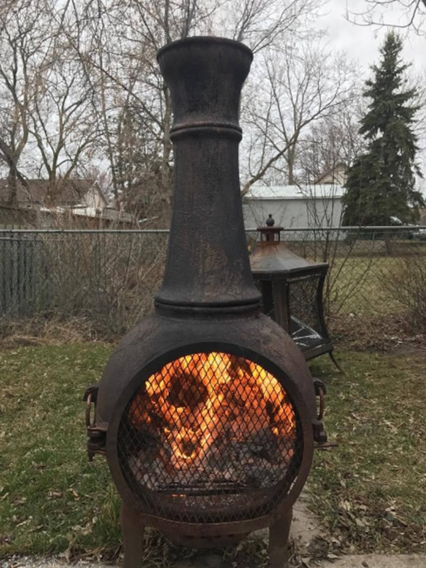 chimney  fire pit