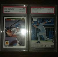 Professionally graded baseball card lot Blackstone, 01504